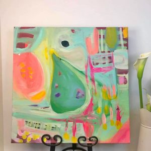 Home Grown. A painting by artist Claire Phillips